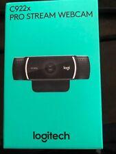 Logitech C922X Pro Stream Webcam *In Hand* SHIPS SAME DAY ASAP LH
