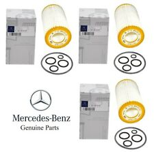 Genuine Mercedes W163 W203 W204 W211 W220 W463 Set of 3 Engine Oil Filter Kits