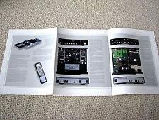 MAKE OFFER - Mark Levinson 37 CD transport / 36 D/A convertor brochure