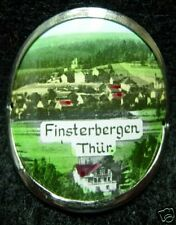 Finsterbergen Round hiking medallion stocknagel G0696