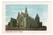 Owen's College - Manchester Photo Postcard 1909