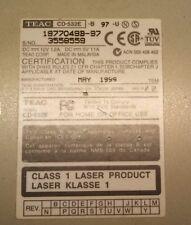3 OPTICAL DRIVES - TEAC CD-532E  - SAMSUNG DVD MASTER SD-616  - HP C4392-56300