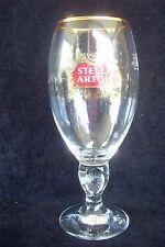 STELLA ARTOIS BALTIMORE RAVENS SUPER BOWL XLVII CHAMPIONS ENGRAVED CHALICE GLASS