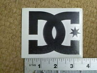 """DC shoes Small 4"""" Black Die-Cut Sticker Decal"""