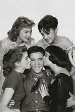ELVIS PRESLEY king creole movie still POSTER KISSES top quality SMILE 24X36