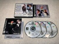Final Fantasy VIII (PlayStation 1, 1999) PS1 Black Label Complete Vr Nice!