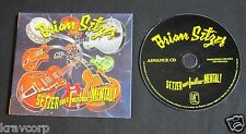 BRIAN SETZER 'GOES INSTRU-MENTAL' 2011 PROMO CD