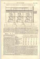 1900 Berlin Tramway Engines Section Of Powerhouse Letter Parnacott Lambeth