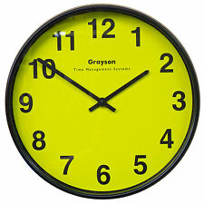 Grayson High Contrast 12 Inch Battery Clock for Partially Sighted - G200HIVIZ
