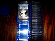 1986 - 2018 (32) COIN PROOF AMERICAN SILVER EAGLE SET PCGS PR 69