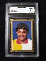 1993 Pro Billiards Pool - Efren Reyes Rookie Card #35 - GMA Graded 8 NM - MT