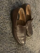 Banana Republic Men's Leather Loafers Slip On Shoes Size 8 brown