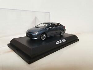 1/43 Dealer version alloy car model Toyota Corolla Hybrid gift collection 2020