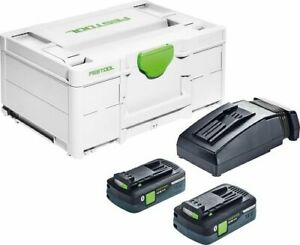 Festool Energie-Set SYS3 ENG 18V 2x4,0/TCL6 576811 Systainer