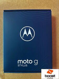 Motorola Moto G 5tylus (2021) - 128GB - Aurora Black (Boost mobile)