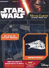 Fascinations Metal Earth 3D Laser Cut Steel Model Kit - Star Wars Snowspeeder