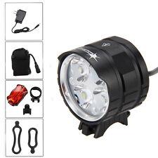 SolarStorm 8000LM 4x XML T6 LED Head Bike Lamp Front Bicycle light 6x18650