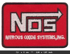 NOS PATCH PATCHES Nitrous oxiyde System Furious Racing LIGHTNING SHIPPING