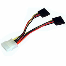 Serial ATA (SATA) Power Splitter Cable-4pin to 2 x SATA