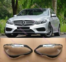 Headlight Lens Headlamp Cover Fit For Benz W212 E350 E400 E500 E550 14-16 Top 2X