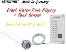 Votronic Black Water Tank Level Gauge Meter Monitor Sensor RV Camper Van Boat