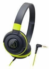 audio-technica STREET MONITORING sealed on-ear headphones Portable Black Green