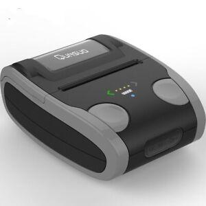 NEW Mini Thermal Bluetooth Portable Receipt Self-adhesive Printer 80mm Wireless