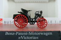 """Busch 59916 Benz-Patent-Motorwagen """"Victoria"""" (1893) in schwarz 1:87/H0 NEU/OVP"""