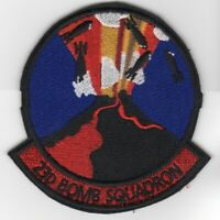 USAF AIR FORCE BOEING B-52 23RD BOMB SQUADRON VOLCANO EMBROIDERED JACKET PATCH