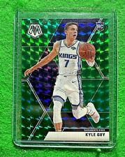 KYLE GUY PRIZM GREEN HYPER ROOKIE CARD KINGS 2019-20 PANINI MOSAIC BASKETBALL RC