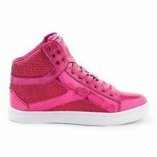 Pastry Pop Tart Glitter High-Top Sneaker & Dance Shoe for Women 8 Fuchsia
