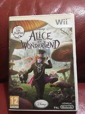 Alice In Wonderland Gioco Wii Pal Nintendo Disney
