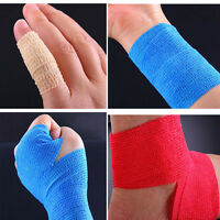 Ankle Wrist Outdoor Sports Self-Adhesive Elastic Bandage Gauze Tape First Aid
