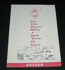 1960's Hermiston Oregon Rocket ad advertising character booklet