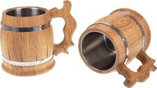 Beer Mug  Solid Oak  Wooden Tankard 0.5l   Handmade Plus Gift