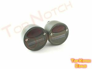 WILLYS ,MB,FORD,GPW,JEEP,TRUCK MILITARY CAT EYE REAR TAIL LIGHT 4 Inch PAIR