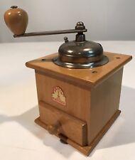Vintage ARMIN TROSSER German European Wood Coffee Mill/Grinder Not Used