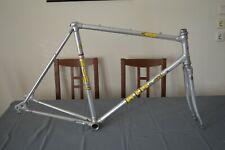 Vintage Alan RIH road bike frame & fork frameset aluminium cracked