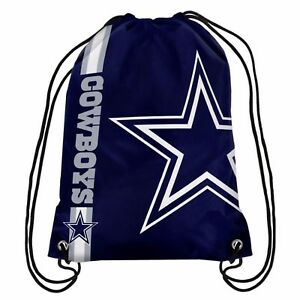 Dallas Cowboys NFL Drawstring Backpack sack / Gym bag