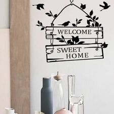 Welcome Home Decor Wall Decal Hallway Decoration Removable Wall Sticker
