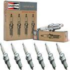 6 Champion Copper Spark Plugs Set for FACEL VEGA FACEL 6 1964 L6-2.9L
