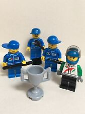 Lego Octan Driver Mechanic Tools Champion Cup Minifigures