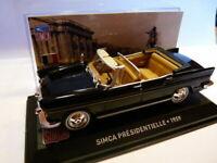 SIM19F voiture altaya IXO 1/43 SIMCA : SIMCA présidentielle 1959