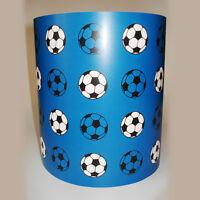 Children's Boy's Lighting Blue Football Ceiling Light or Lamp Shade medium