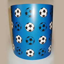 Children's Boy's Lighting Blue Football Ceiling Light or Lamp Shade medium