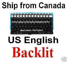 Keyboard for Apple MacBook Air A1369 A1466 - US English Backlit