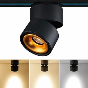 Track light LED Aisle Free Hole Ceiling COB Downlight Living Room Lamp 110V 220V