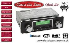 Classic 200 Car Radio DAB+/ FM RDS / Bluetooth / USB / Aux in / iPhone