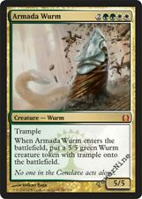 1 PLAYED Armada Wurm - Gold Return to Ravnica Mtg Magic Mythic Rare 1x x1