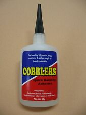 Cobblers Quick Bonding Super Glue Instant Shoe Repair Adhesive 50 gr/ 2 oz  NEW